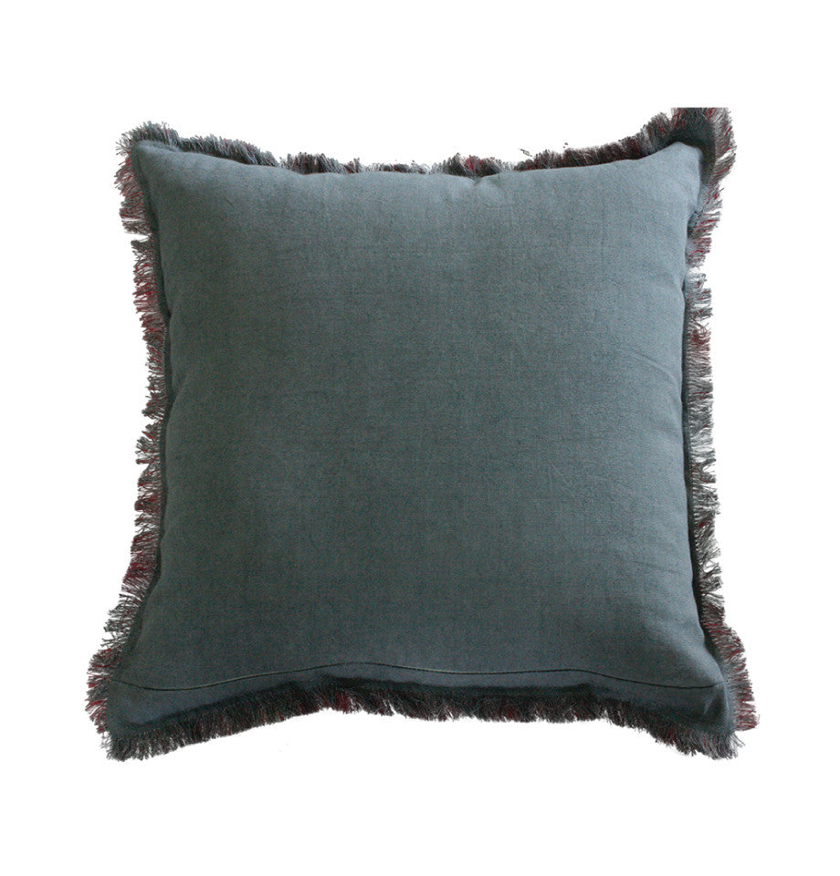 Cushion - Monterey - Port Red/Charcoal