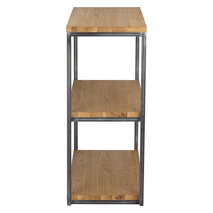 Calia Low Oak Bookcase