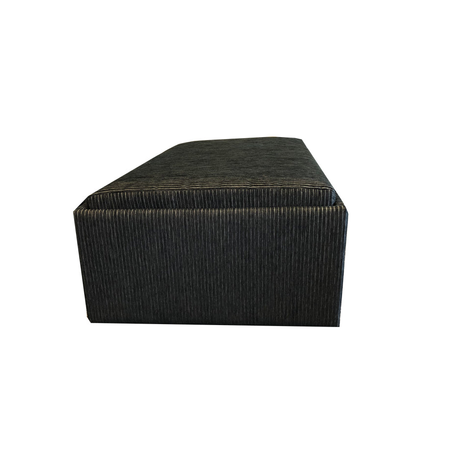 Campbell Double Sofabed Ottoman - Nz Made - Direction Onyx