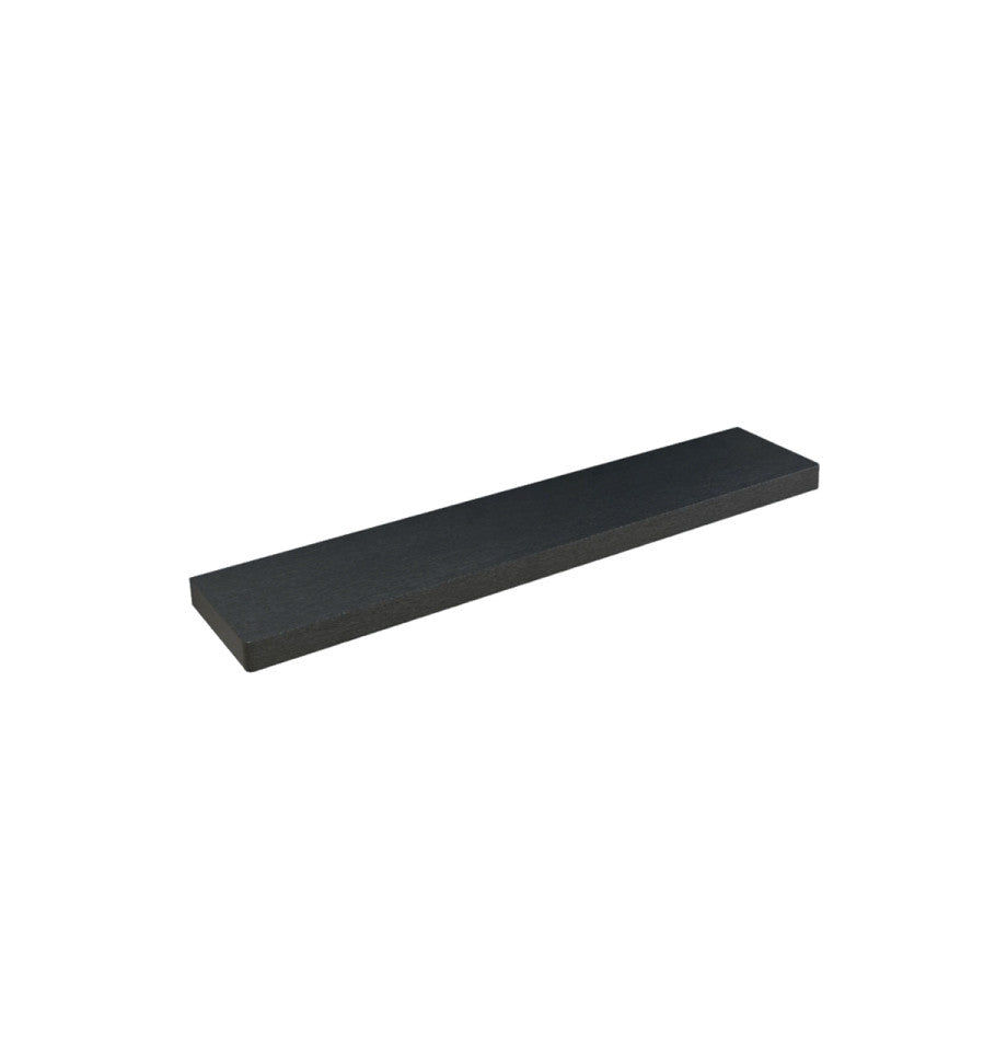 Floating Shelf 800 - Black Oak Veneer