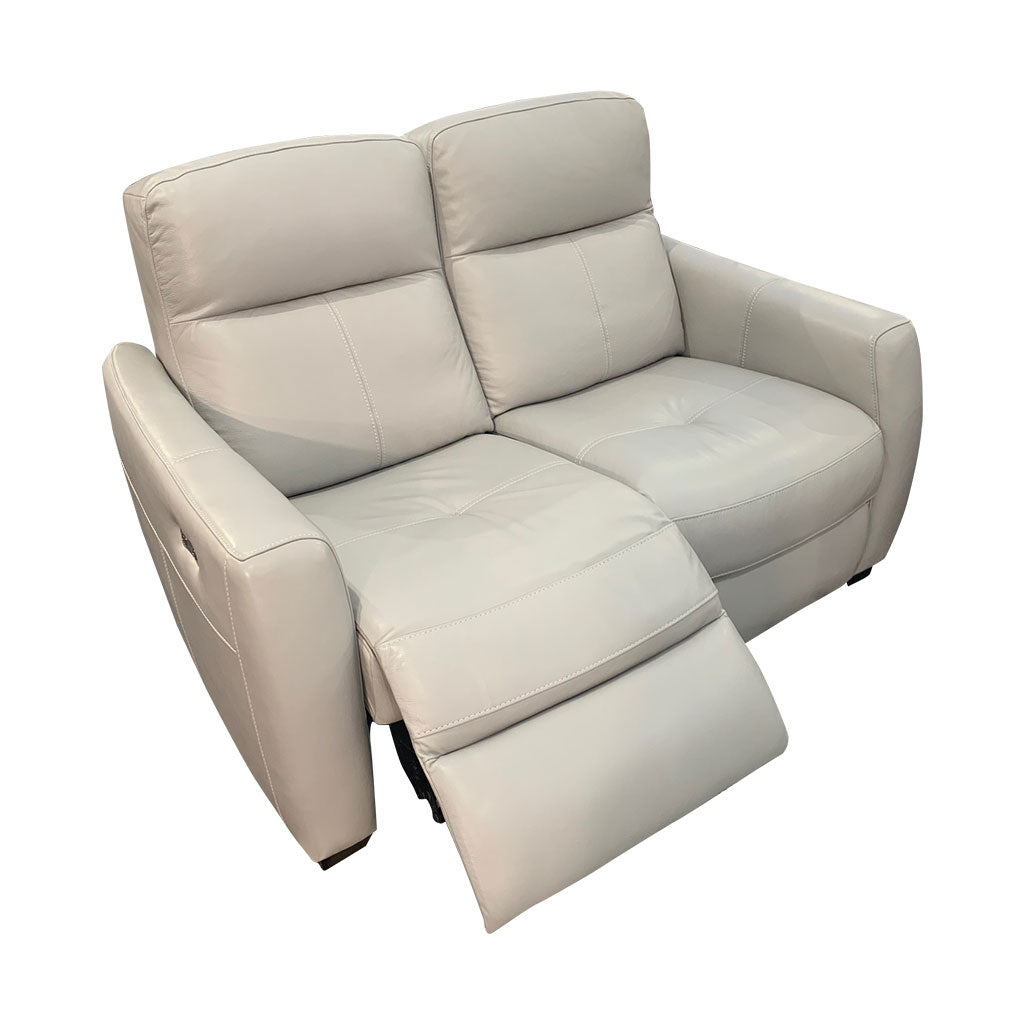 Genoa 2 seater with electric recliner extended