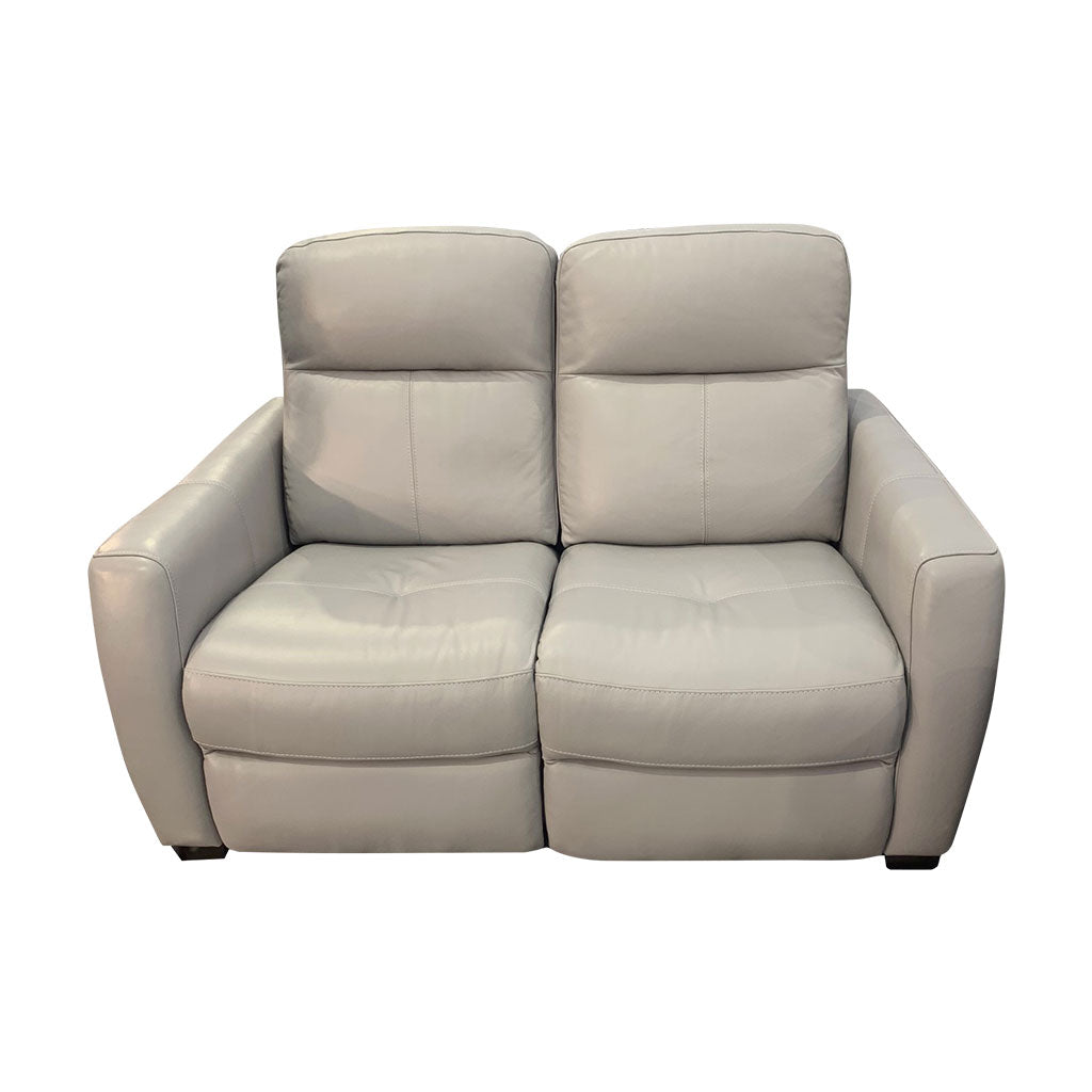 Genoa 2 seater electric recliner - front view