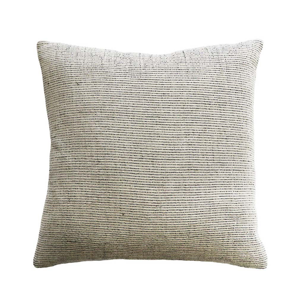 Cushion - Sandridge With Feather Inner - Linen/Black