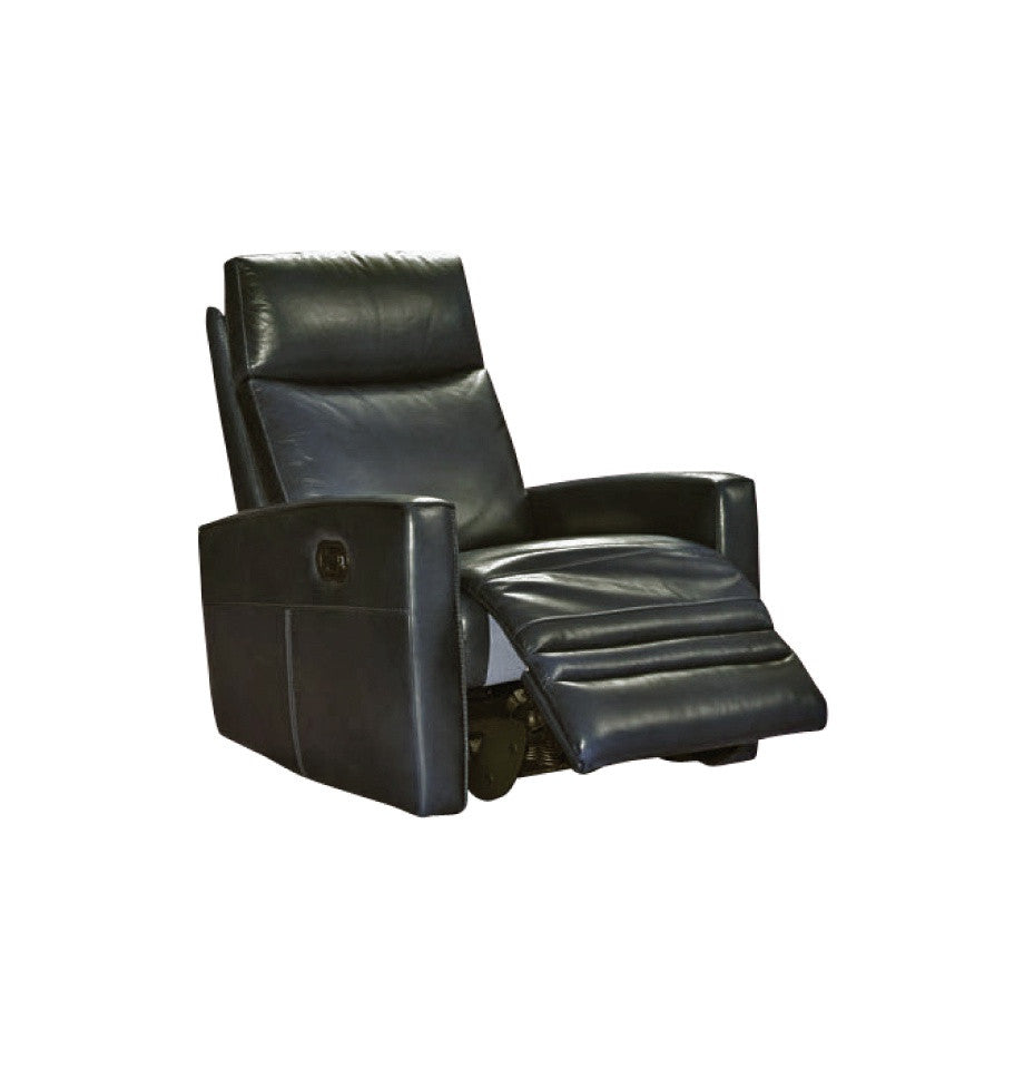 Nice Electric Recliner - Violino Cambridge Black Full Grain Leather