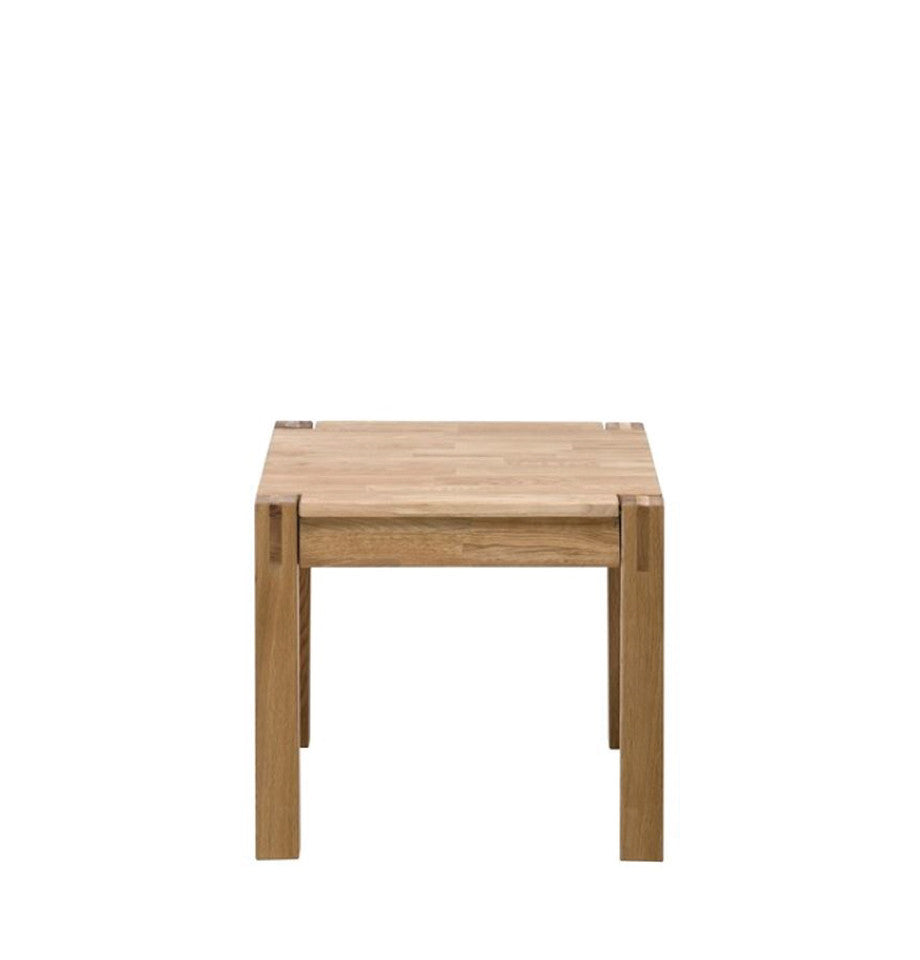 Modena Oak Lamp Table with Drawer - 57x49cm