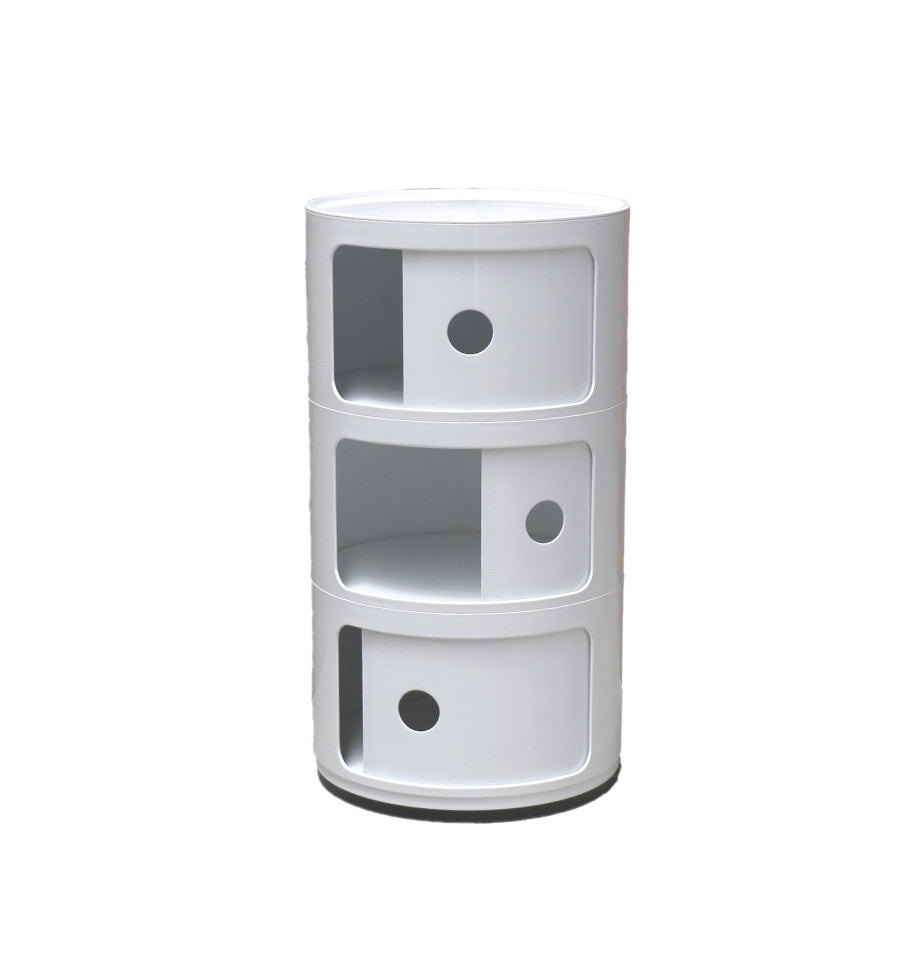 Post Box 3 Tier - White