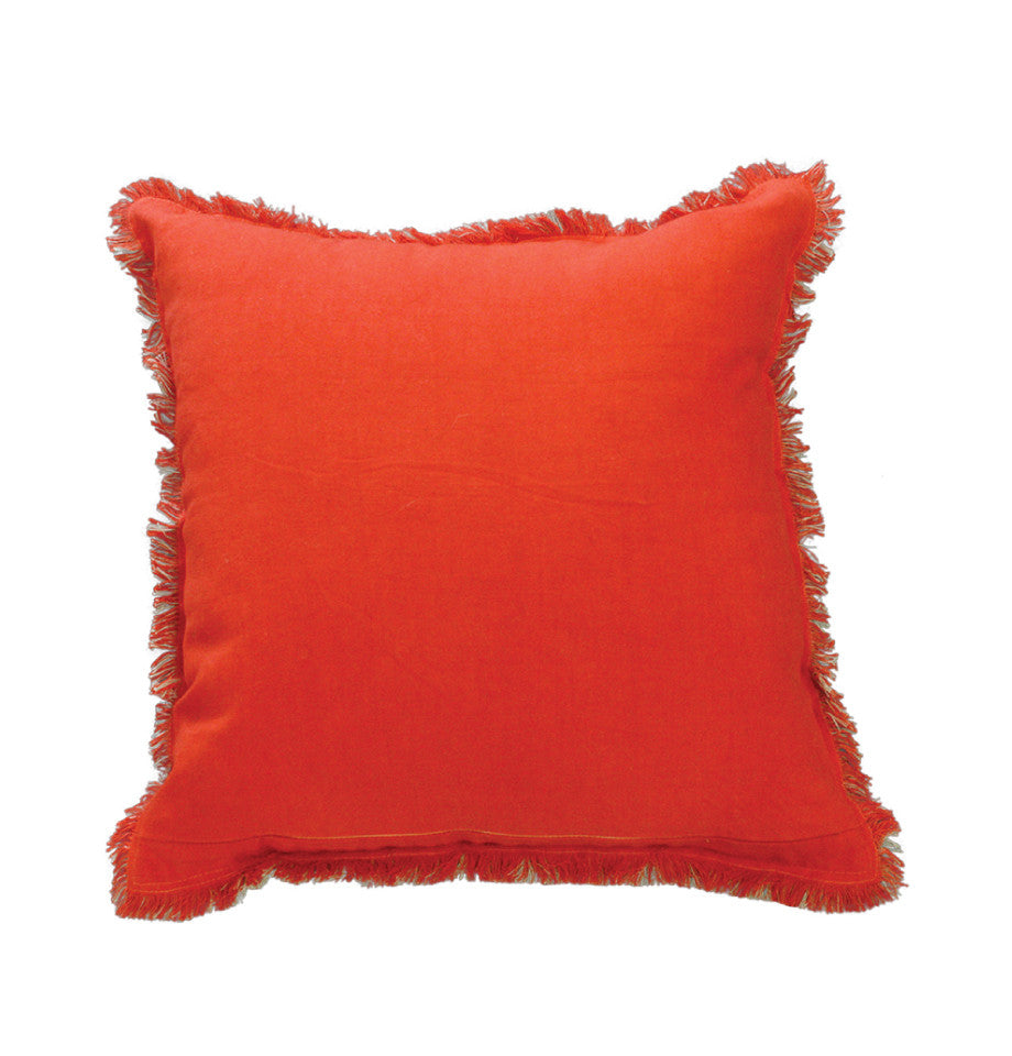 Cushion - Monterey - Burnt Orange/Fawn