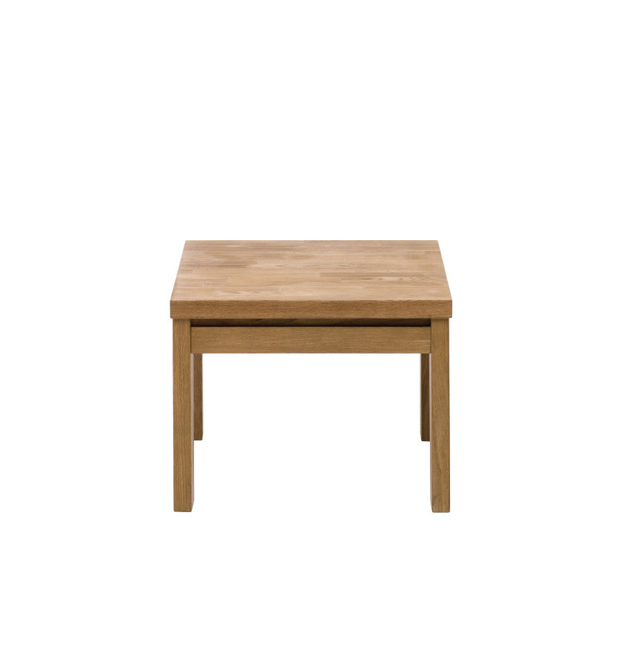 Naples Oak Lamp Table - 60x60cm