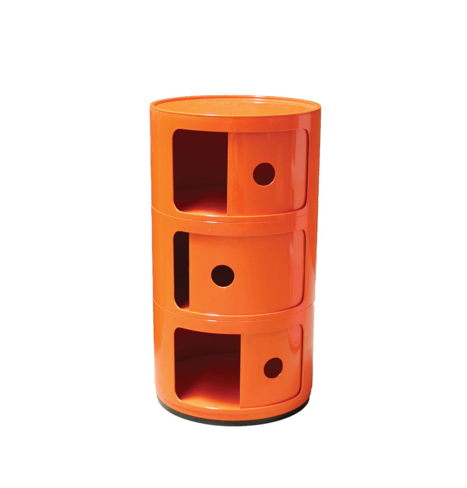 Post Box 3 Tier - Orange