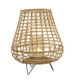 Bamboo Lantern On Stand - Large