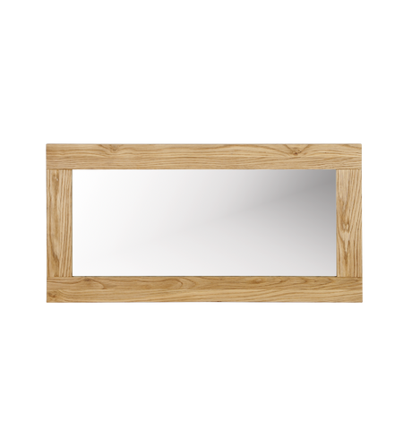Imola Desk Mirror - Solid Oak Oiled