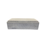 Campbell Queen Sofa Bed Ottoman - Corduroy Leisure Pewter