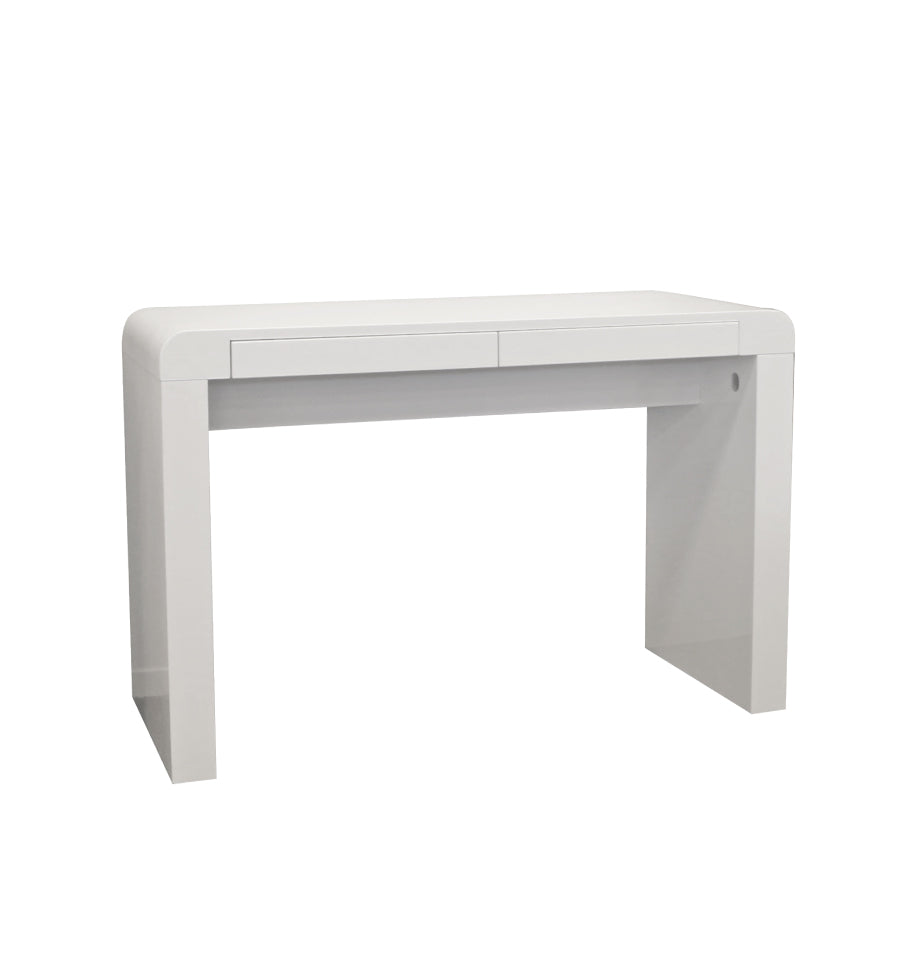 Cana Desk - High Gloss White