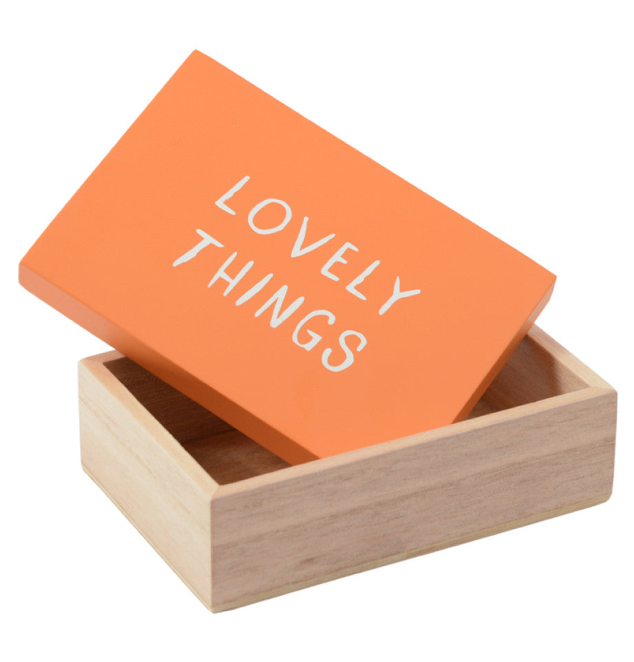 Casa Trinket Box - Orange