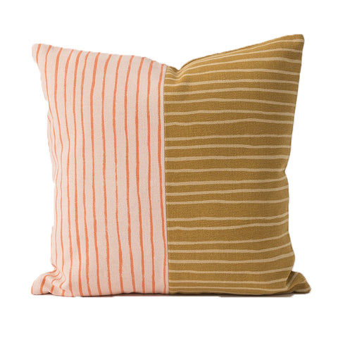 Citta Design - Spring Cushion With Feather Fill - Multi