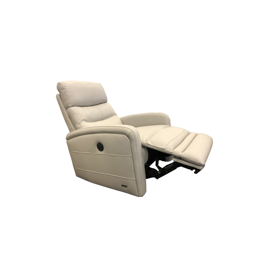 Cole Electric Rocker Recliner Chair - Cat 15 M3010 Putty Leather