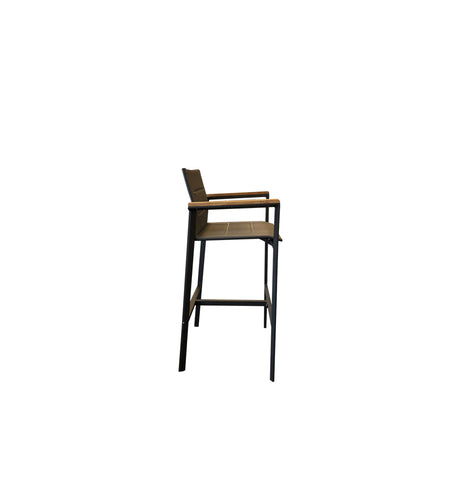 Bermuda Outdoor Dining Chair - White