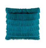 Cushion - Fringe - Peacock