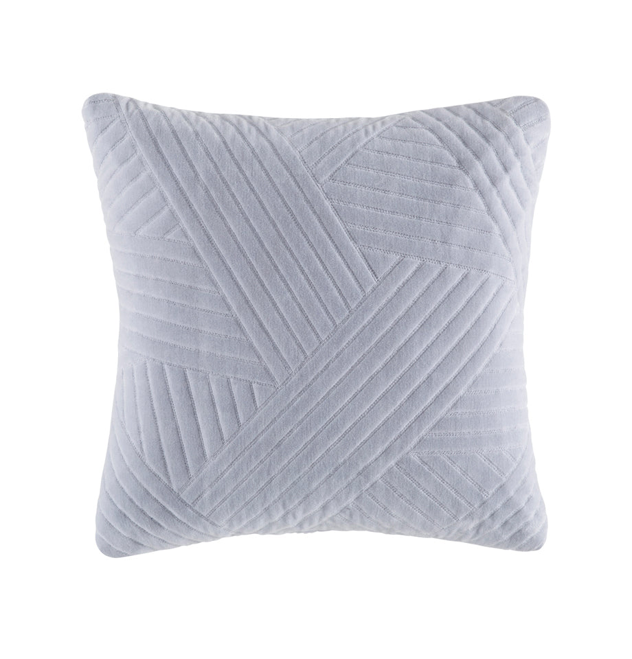Cushion - Barro - Silver - Feather Fill