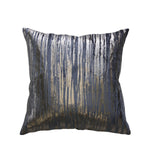 Cushion - Eva - Slate / Pewter Foil