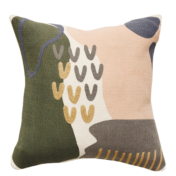 Cushion - Greta With Feather Inner - Multi