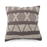 Cushion - Nadie - Grey / White