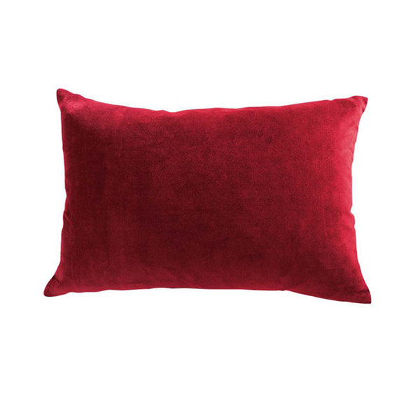 Cushion - Sovereign With Feather Inner - Ruby