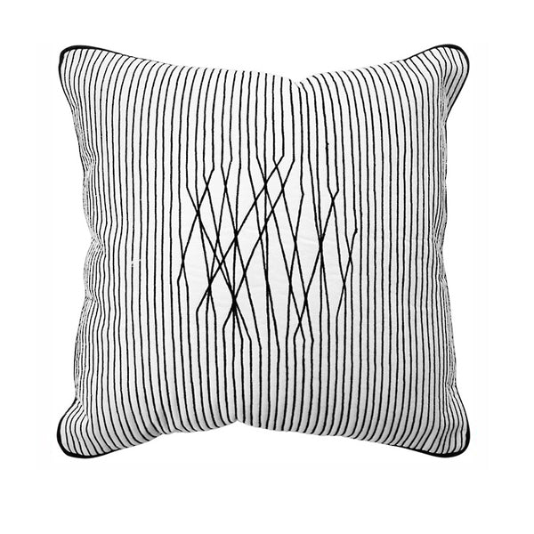 Cushion - Vermezzo - Black/White