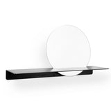 Fold Ledge Mirror - Black