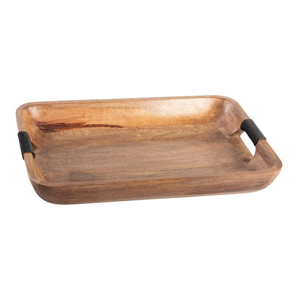 Wooden Rect Tray - Large
