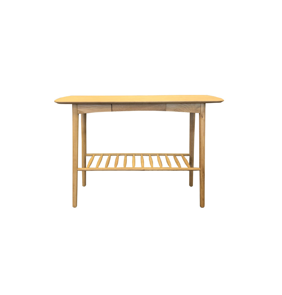 Jersey Hall Table 1100x400mm - Oak Timber