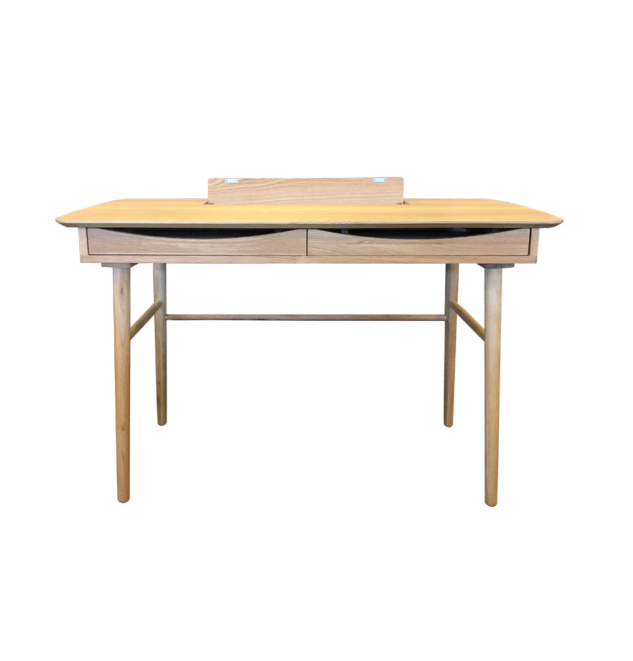 Jersey Writing Desk 120x60cm - Oak Timber