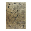 Wall Art - Kamunda Canvas Print w/ Foil - Gold Frame