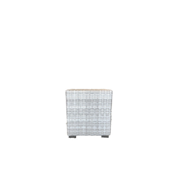 Malibu Outdoor Cube - Mid Grey Rehau German Wicker