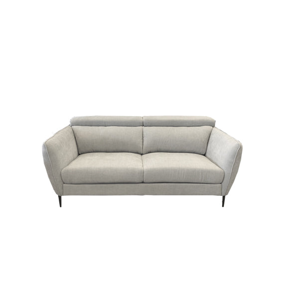 Milano 2.5str (2 Arms) - Roma Sofa Fabric Istanbul, Colour Oyster
