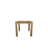 Modena 80x80cm Small Dining Table - Solid Oak