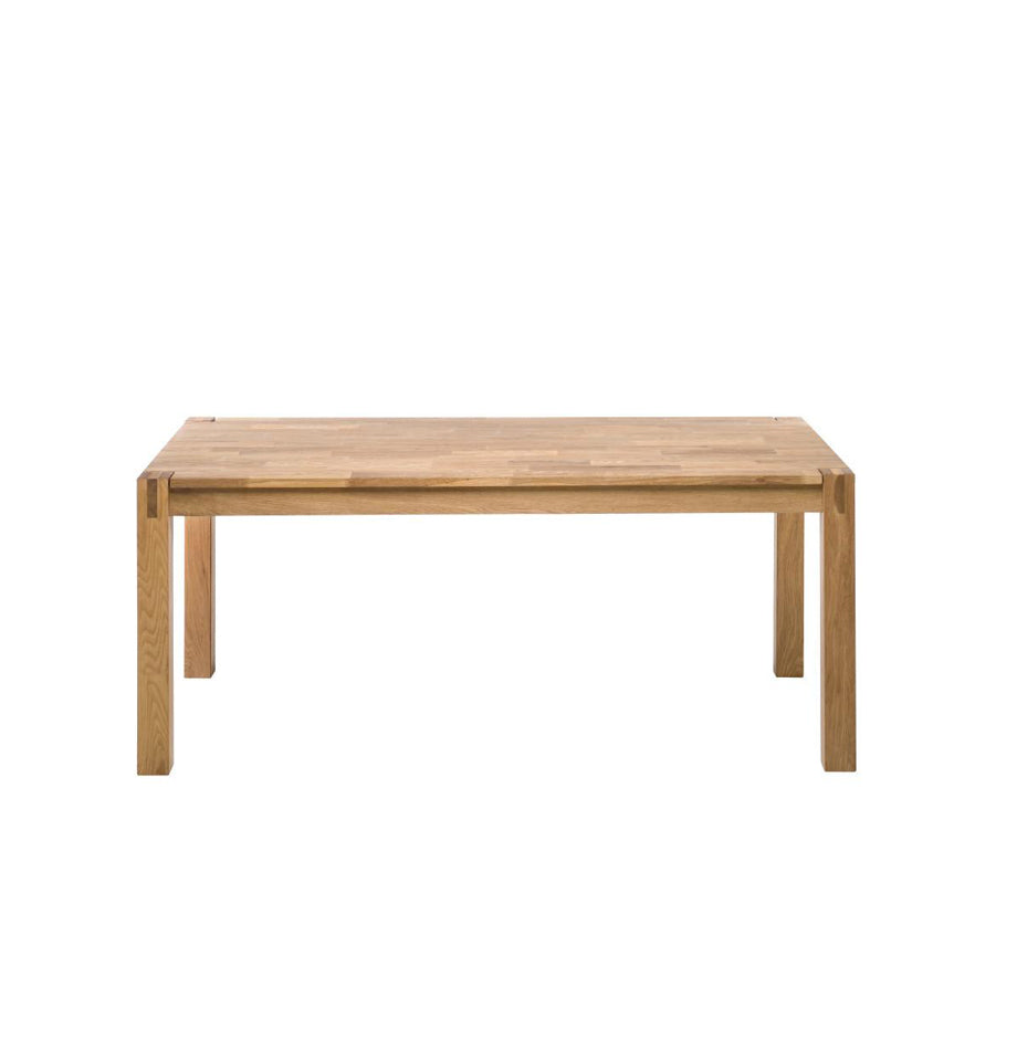Modena 90x140cm Dining Table - Solid Oak Natural Oil