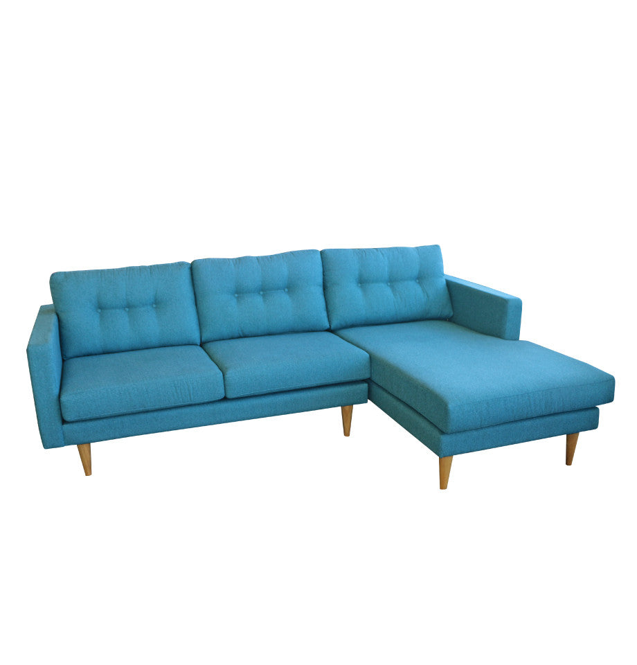 Nordic 2.5 Seater Left + Chaise Right - York Reef