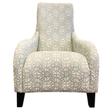 Omaha Chair - NZ Made - Soleil Mist Fabric