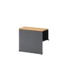 Opito long armrest - charcoal