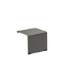 Opito Outdoor Side Table - Charcoal Aluminum