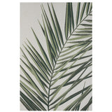 Indoor/Outdoor Rug - Royal Palm 160x230 - Cream/Green