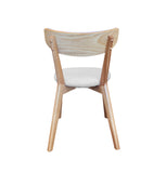 Pisa Dining Chair - Light Grey Fabric