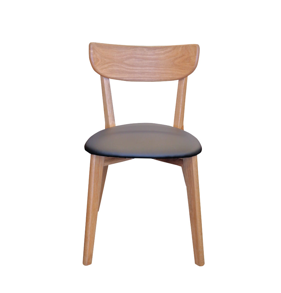 Pisa Dining Chair - Black Oak