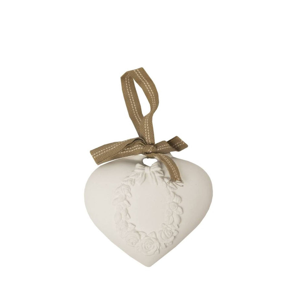Scented Clay Heart - Rose
