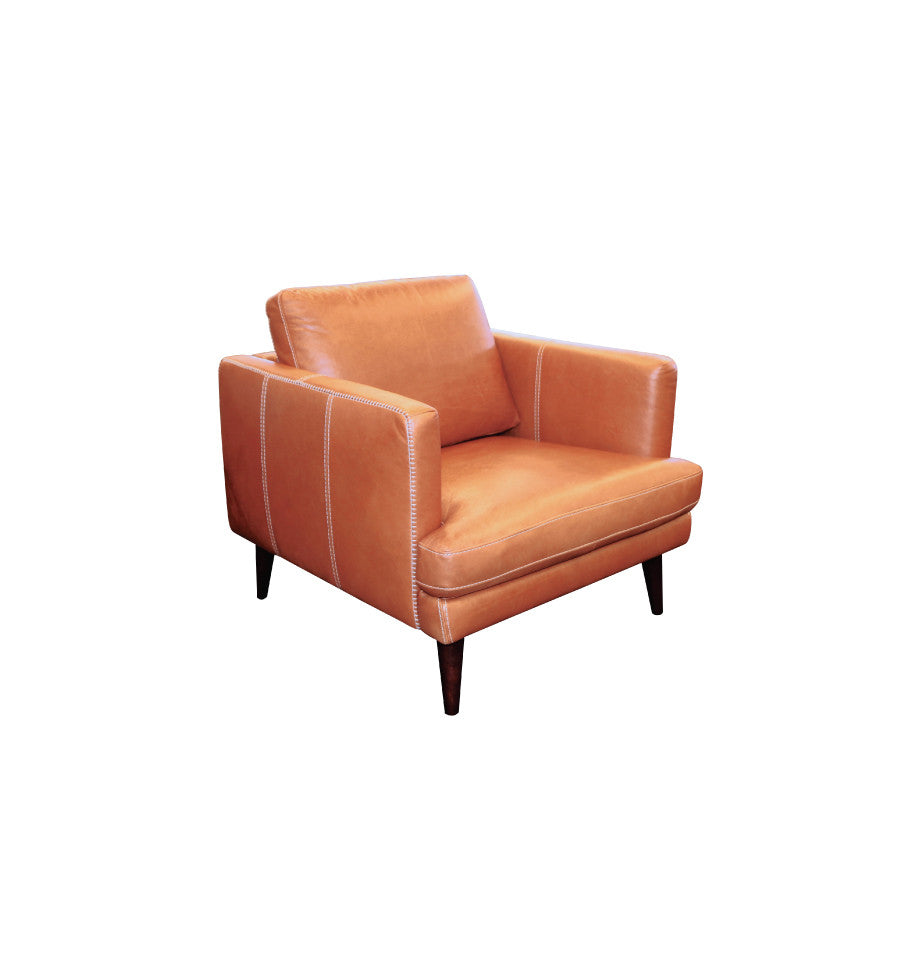 Stockholm Chair - Matisse Tan Leather