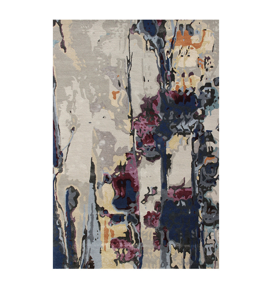 Violette Wool/Viscose Floor Rug - Multi 160x230
