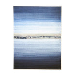 Wall Art - Horizon Canvas With Foil - White Frame