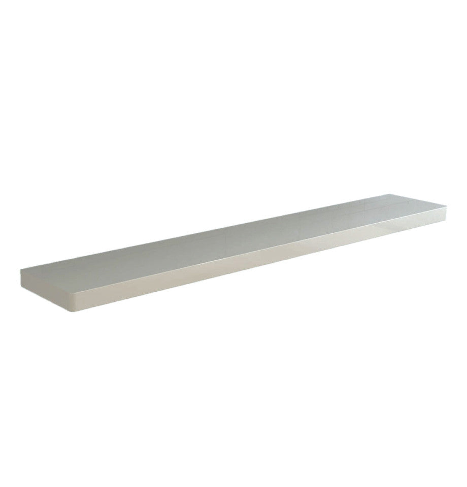 Floating Shelf 1660 - High Gloss White