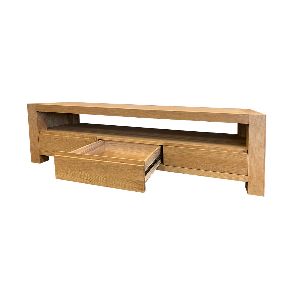 Beckett 3 Drawer Entertainment Unit with Drawers